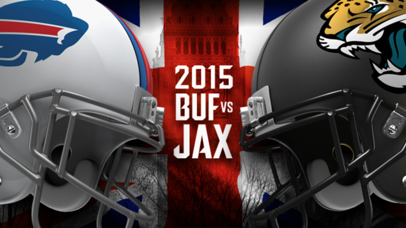 Buffalo Bills play Jacksonville Jaguars at Wembley, London. LeSean McCoy is expected to have a big game.