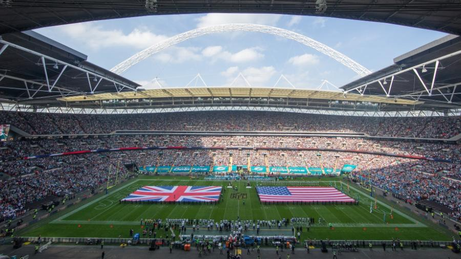 NFL being played at Wembley in 2015