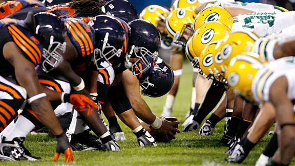 Bears at Packers