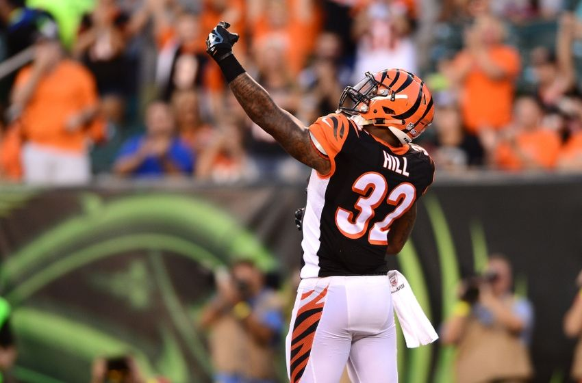 Jeremy Hill will be hoping for a big game vs Cleveland Browns