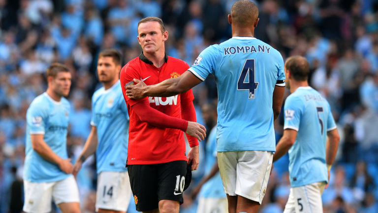 Rooney and Kompany