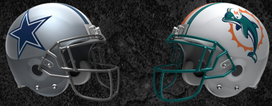 Cowboys vs Dolphins