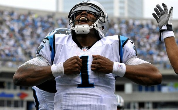 Cam Newton Panthers QB