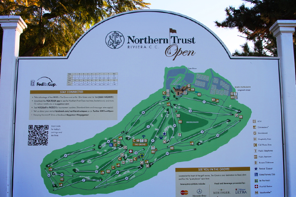 Northern Trust Open 2016 at The Riviera Country Club