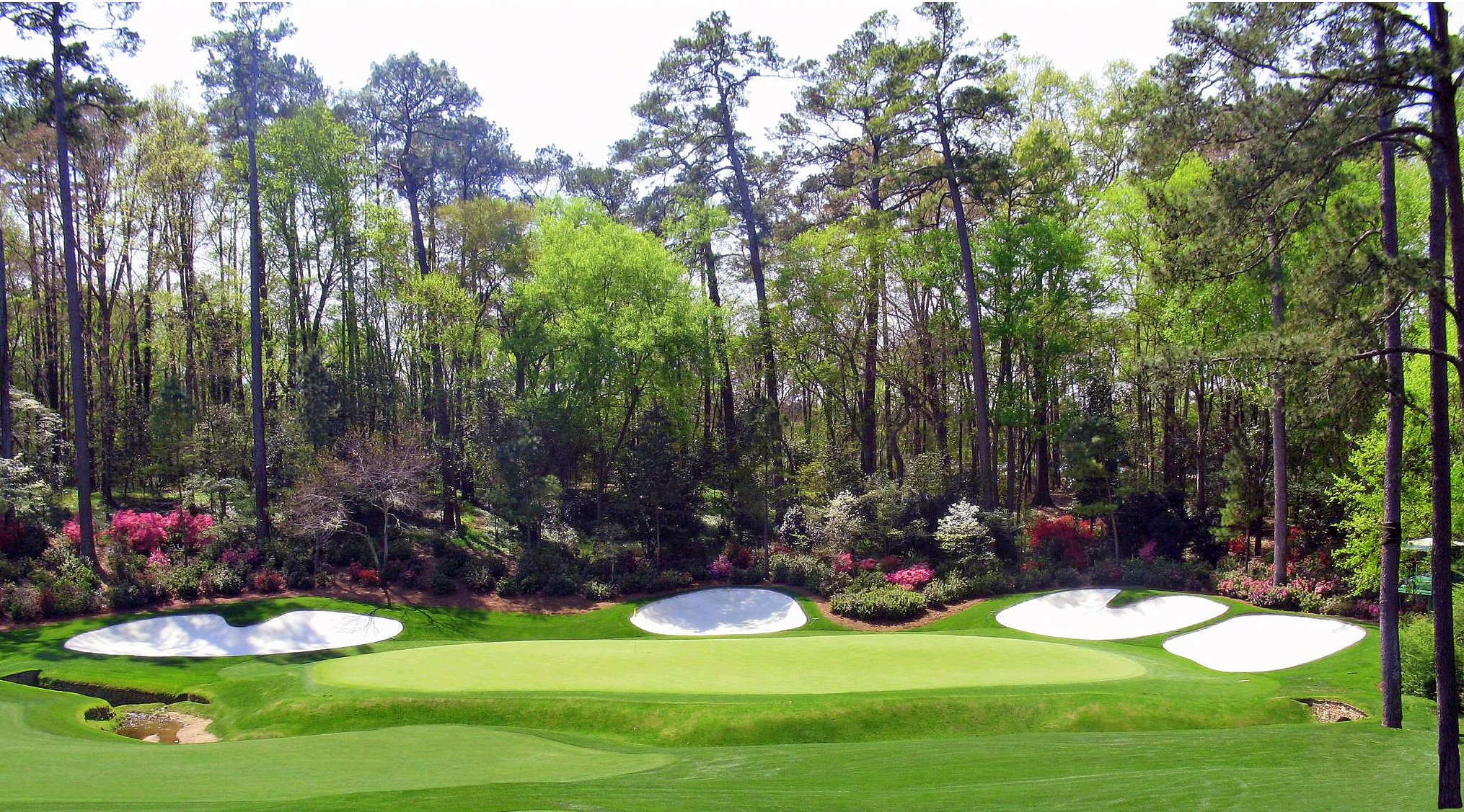 Masters 13th Hole