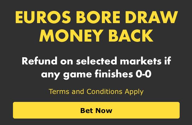 EUROS BORE DRAW MONEY BACK