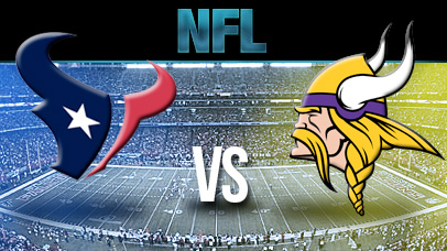 Houston Texans @ Minnesota Vikings Picks