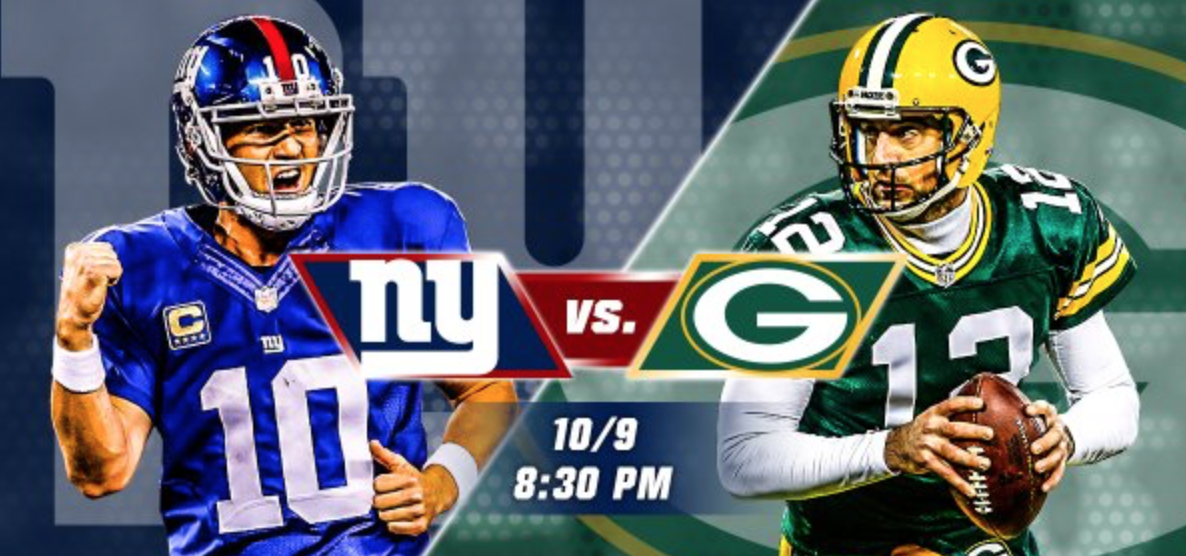 New York Giants @ Green Bay Packers picks