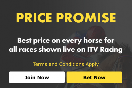 Bet365 - Best price on every horse for all races shown on ITV.